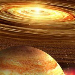 """Jupiter se află în """"opoziție"""" azi, putând fi observată pe cer în cursul nopții"""