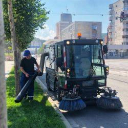 Modernizare și la capitolul curățenie
