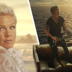 """Pink a înregistrat primul ei duet cu artistul de muzică country Keith Urban, """"One Too Many"""""""