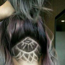 Hair tattoo, tunsoarea femeilor îndrăznețe