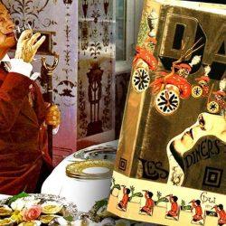 """""""Les Diners de Gala"""", cea mai extravagantă carte de bucate din lume, a lui Salvador Dali, reeditată după 43 de ani"""