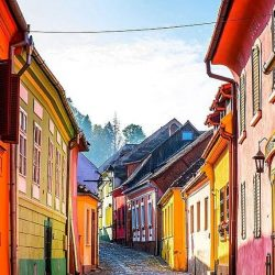 ORAŞE COLORATE (VII) Sighișoara - România [VIDEO]