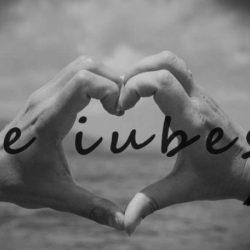 Te iubesc frumos!